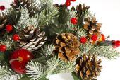 Dekorationen für weihnachten und neujahr. — Stockfoto