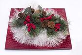 クリスマスと新年の祝日のための装飾. — ストック写真