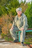 Retrato de cosaco — Foto de Stock