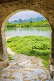 Gate Yulong River — Stock Photo