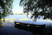 Barco de madera — Foto de Stock