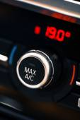 Car air conditioning — Stock Photo