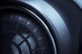 Car speaker — Stock Photo