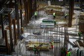 Construction site — Fotografia Stock