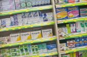 Medicine in a pharmacy — Stok fotoğraf
