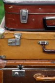 旧皮箱 — 图库照片