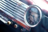 Vintage car clock — Stock Photo