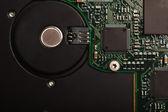 Electronic micro circuit — Stock Photo