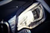 Car LED headlight — Stock Photo