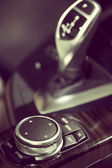 Car buttons detail — Stock Photo