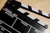 Palmada de cine — Foto de Stock