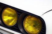 Vintage headlight — Stock Photo