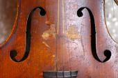 Used violin — Stock Photo