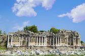 Archaic Runis ,Antala,Turkey — Stock Photo