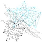 Linear geometric pattern — Stockvektor
