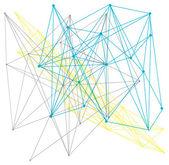 Linear geometric pattern — Stock vektor