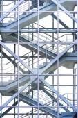 Büro-Treppe — Stockfoto