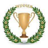 Winner cup — Stock Vector