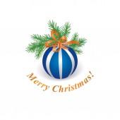 Christmas icon. — Stockvektor