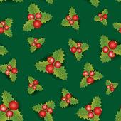 Christmas Seamless Background. — Stock Vector