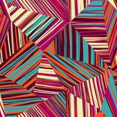 Geometric triangle mosaic pattern. — Cтоковый вектор