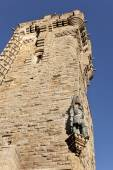 Monument, Wallace Monument, Scotland, Stirling, Memories, Vertic — Stock Photo