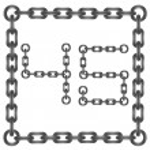 Chain numbers — Stock Photo #56703045