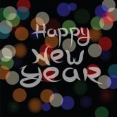 New year blurred background — Stock Photo