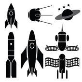 Space ships — Stock Vector