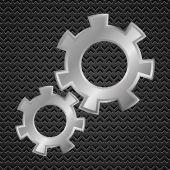 Ozubená kola — Stock vektor