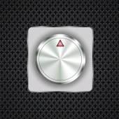 Control button — Stock Vector