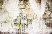 Decorative wall stucco — Stock Photo