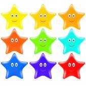 Gold Stars — Stock Vector
