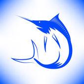 Marlin ryby — Stock vektor