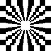 Black White Background — Stock Vector
