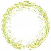Confetti Circle — Stock Vector