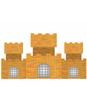 Brick Castle — Stock Vector
