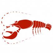 Red Lobster — Stockfoto