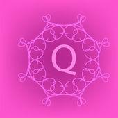 Monogram Q  — Stock Vector
