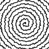 Spiral Background — Stock Vector