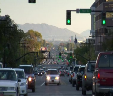 State Street in Salt Lake City — Stock Video
