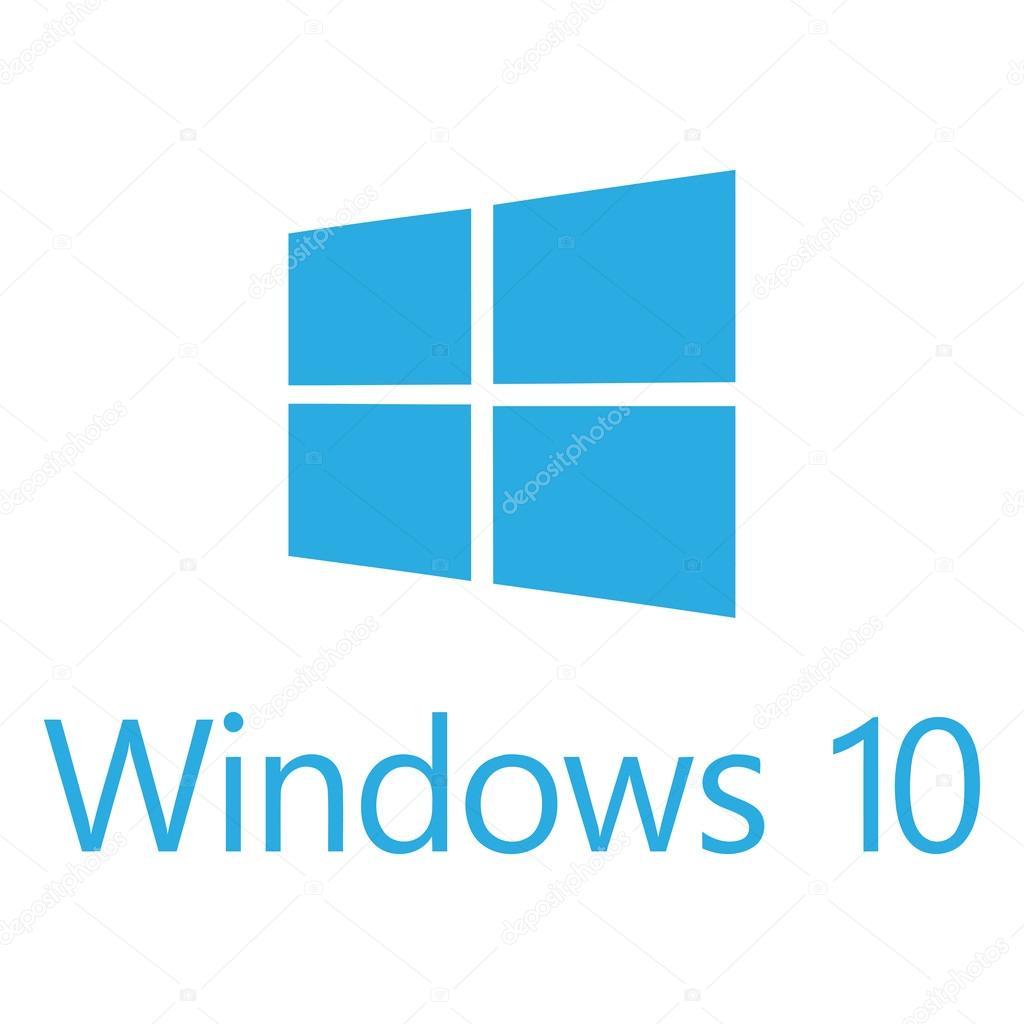 logo windows 10 de microsoft � vector de stock 169 lappenno2