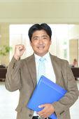 Portrait of an Asian businessman — Stock Photo