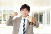 Retrato de un hombre de negocios asiático — Foto de Stock