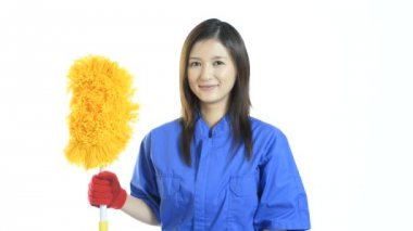 Janitorial cleaning service — Stock Video
