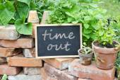 Time out — Stock Photo