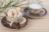Vanilla crescents — Stock Photo