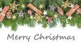 英语圣诞贺卡 — 图库照片