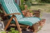 Patio chair — Stock Photo