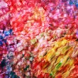 Art abstract bright rainbow oil pattern background, effect of colorful sea waves — Stock Photo